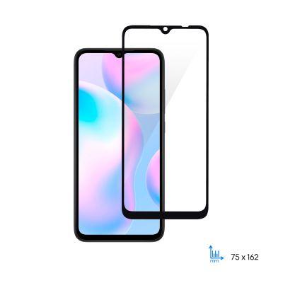 Защитное стекло 2E для Xiaomi Redmi 9A-9C, 2.5D FCFG,(1 Pack), black border