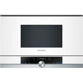 Встраиваемая микроволновая печь Siemens BF634LGW1 - 21л./900Ватт/TFT дисплей/белый
