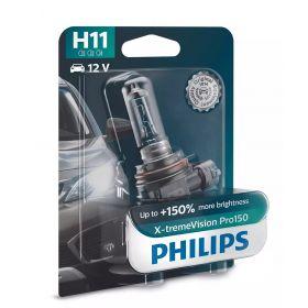 Лампа галогенная Philips H11 X-treme VISION PRO +150%, 3700K, 1шт/блистер