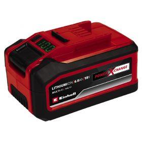 Аккумулятор Einhell 18V 6.0Ah, PXC Plus, Multi-Ah (переключатель емкости)