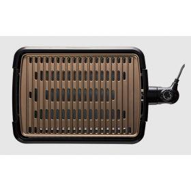 Гриль George Foreman 25850-56 Smokeless BBQ Grill, 1606 Вт, титаное напыление пластин, черный