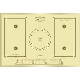 Варочная поверх. индукционная Kaiser KCT7797FIElfEm - 77см/5 конф/сенсор/бежевый