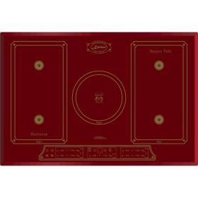 Варочная поверх. индукционная Kaiser KCT7797FIRotEm - 77см/5 конф/сенсор/красный