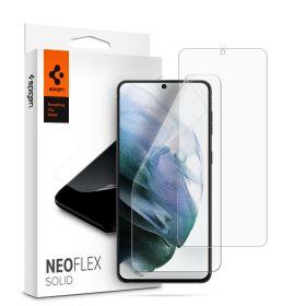 Защитная пленка Spigen для Galaxy S21+ NeoFlex Solid HD, Clear