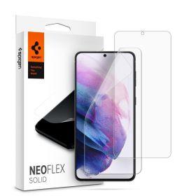 Защитная пленка Spigen для Galaxy S21 NeoFlex Solid HD, Clear