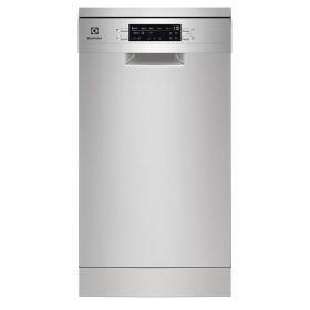 Посудомоечная машина Electrolux SES42201SX отдельностоящая, ширина 45 см, A++, 9 комплектов, инвертор, дисплей, нерж. сталь