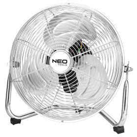 Вентилятор NEO напольный, профессиональный, 50Вт, диам. 30 см, 3 скорости, двигатель медь 100%