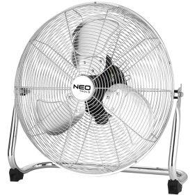 Вентилятор NEO напольный профессиональный,111Вт, диам. 45 см, 3 скорости, двигатель медь 100%