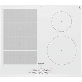 Варочная поверхность стеклокерамическая Siemens EX652FEC1E -индукция/60см/4конф/1 расш/слайдер/белый